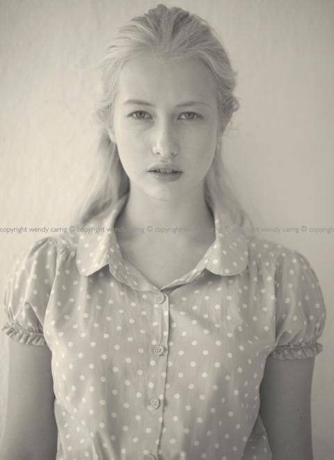 billie model, photography © copyright wendy carrig