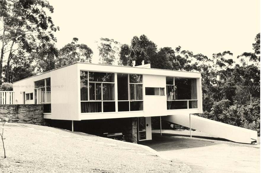 rose seidler house, sydney, australia, Harry seidler architect, photography © copyright wendy carrig