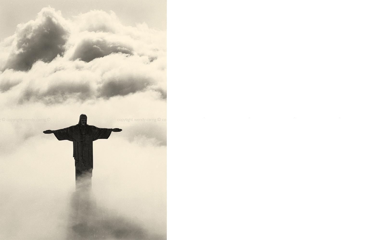 Christ the redeemer, rio de janeiro, photography © copyright wendy carrig, elle decoration