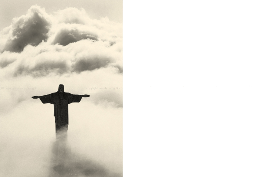 Christ the redeemer, rio de janeiro, photography © copyright wendy carrig, elle decoration