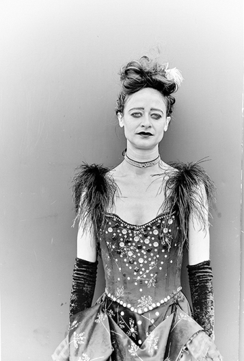 Portraits of circus artistes