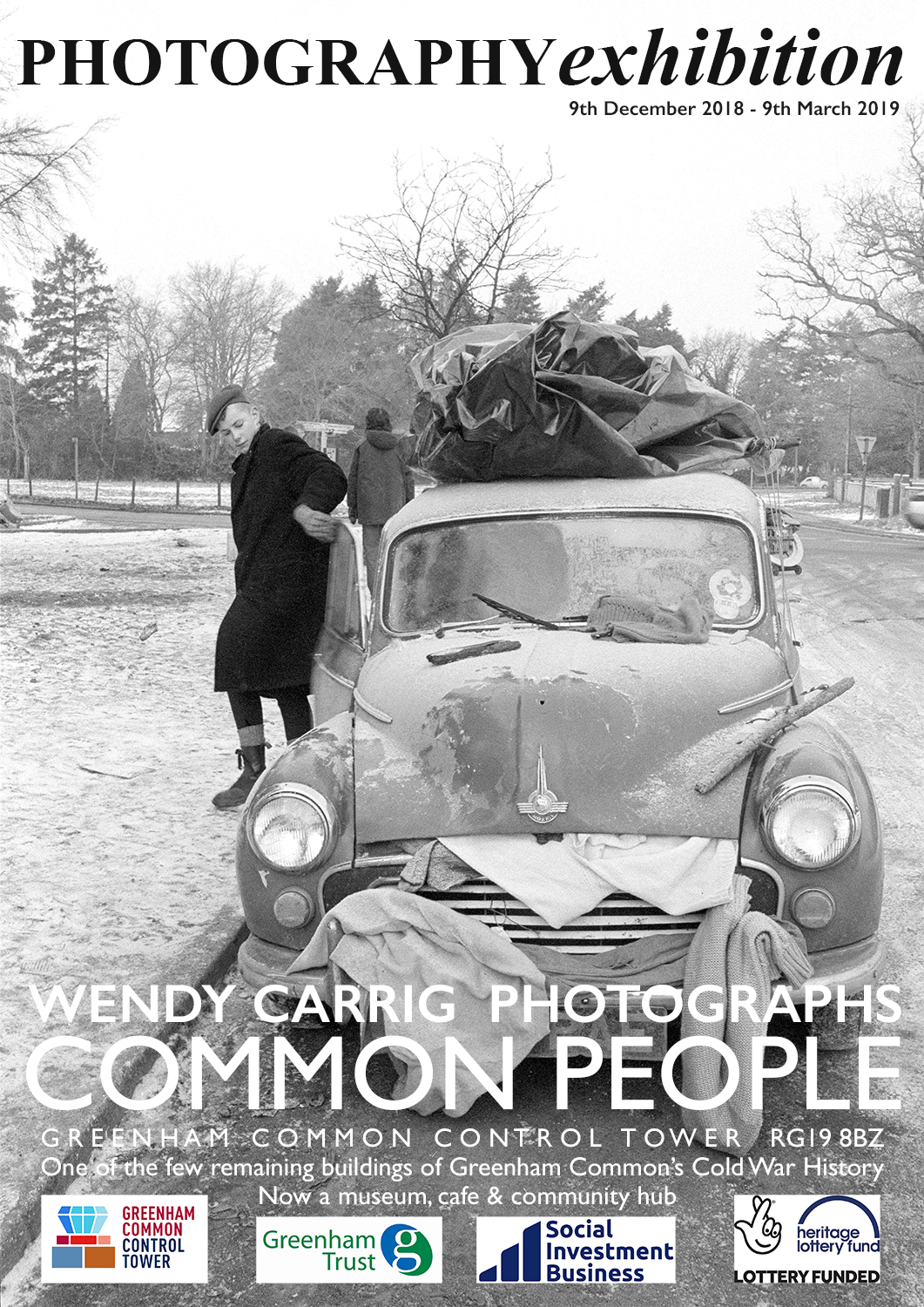 COMMON PEOPLE photography exhibition poster